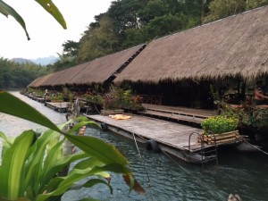 The humble River Kwai Jungle Rafts