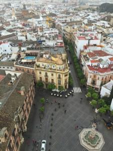 Sevilla view from Giralda Tower
