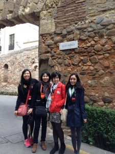Asian invasion in Alhambra