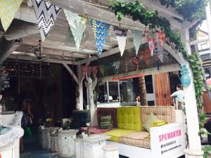 A cute boutique shop