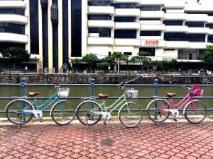 Our pastel bikes